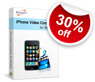 30% off for Xilisoft iPhone Video Converter