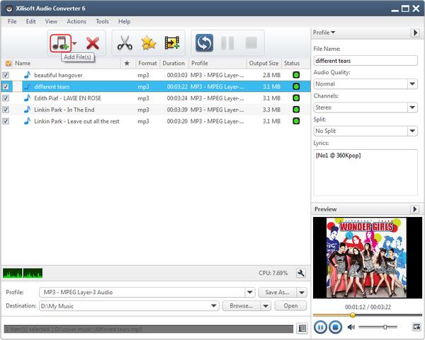 Xilisoft Audio Converter