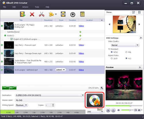 How to convert WMV to DVD