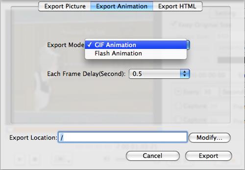Xilisoft DVD Snapshot for Mac