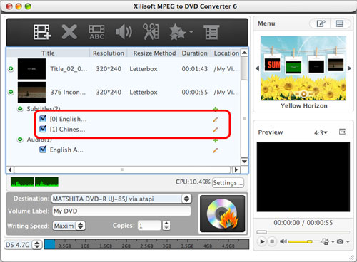 How to convert MPEG to DVD Mac