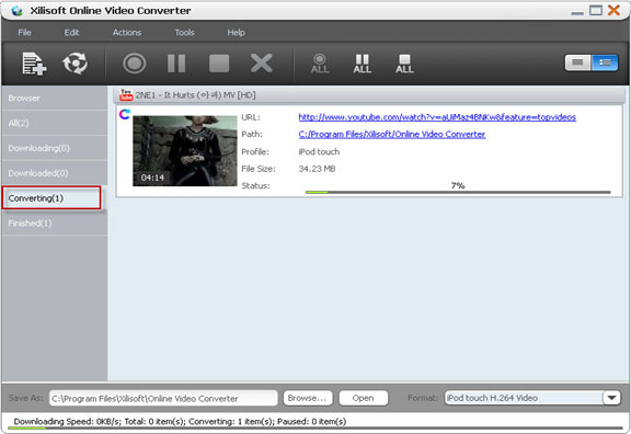 Xilisoft Online Video Converter