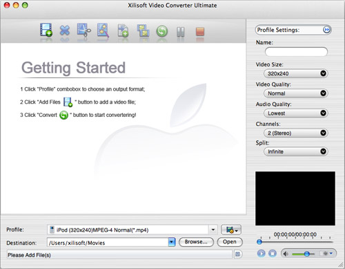 How to convert MPEG to MOV MP4 on Mac
