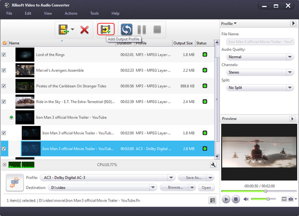 Xilisoft Video to Audio Converter