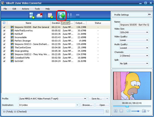 Xilisoft Zune Video Converter