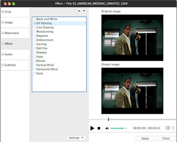 Xilisoft DVD to Video for Mac